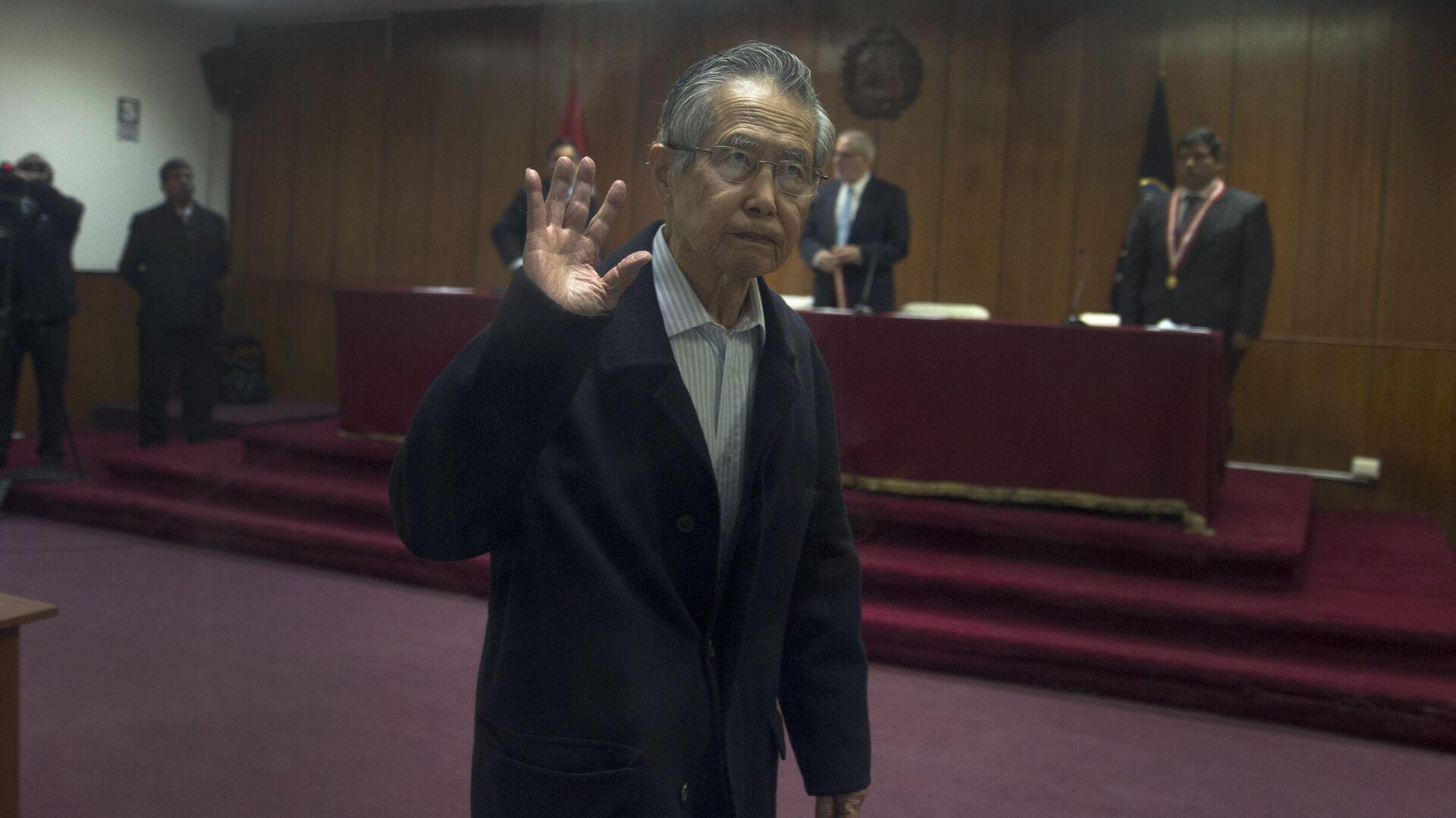Alberto Fujimori, expresidente de Perú - Sputnik Mundo, 1920, 17.05.2021