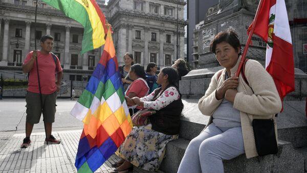Migrantes en Argentina - Sputnik Mundo