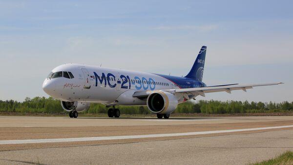 El avión de pasajeros ruso MC-21 - Sputnik Mundo