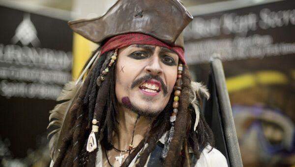 Capitán Jack Sparrow - Sputnik Mundo