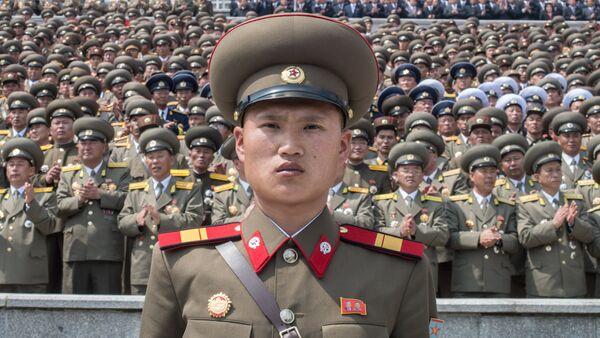 Un militar nortecoreano - Sputnik Mundo