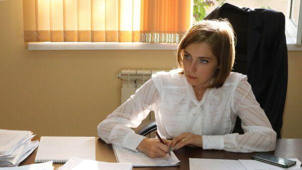 Natalia Poklónskaya en Eupatoria - Sputnik Mundo