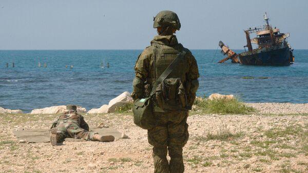 Ejercicios conjuntos ruso-sirios en Tartus - Sputnik Mundo