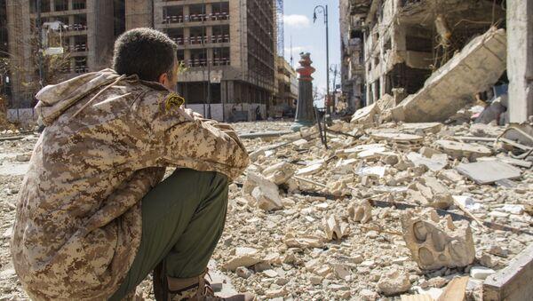 Ruinas de Bengasi, Libia, 4 de abril de 2015 - Sputnik Mundo