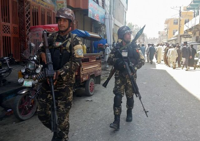 Las fuerzas seguridad de Afganistán.