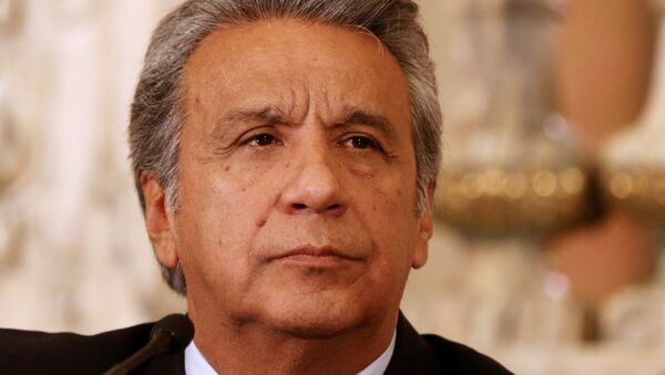 Lenín Moreno, el presidente de Ecuador - Sputnik Mundo
