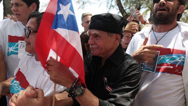 El líder independentista puertorriqueño Oscar López Rivera - Sputnik Mundo