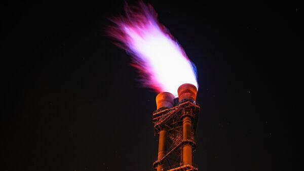 Gas ardiendo - Sputnik Mundo