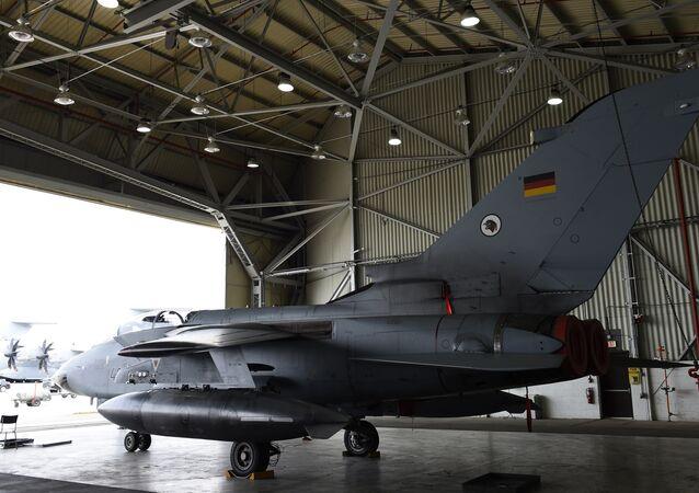 Avión alemán en la base militar turca (archivo)