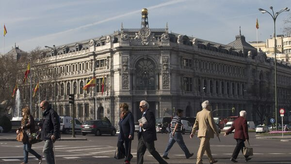 El Banco de España (archivo) - Sputnik Mundo
