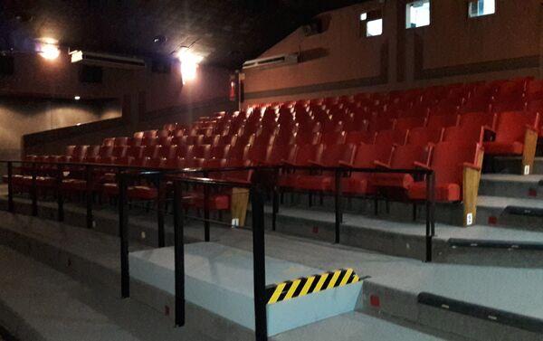 Sala del Cine Cosmos - Sputnik Mundo
