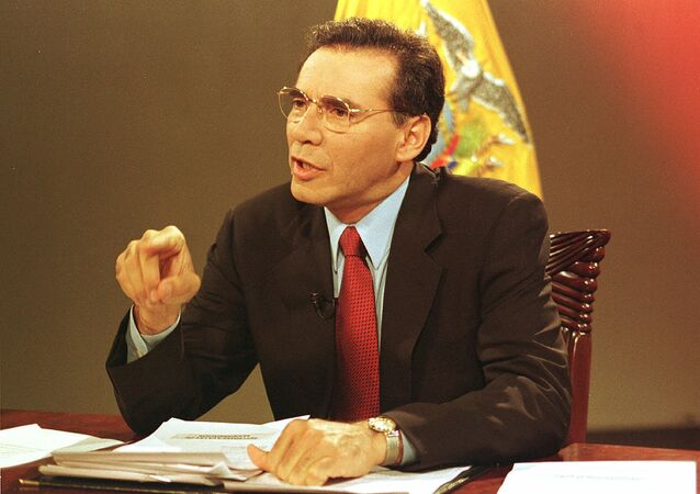 Jamil Mahuad, expresidente de Ecuador