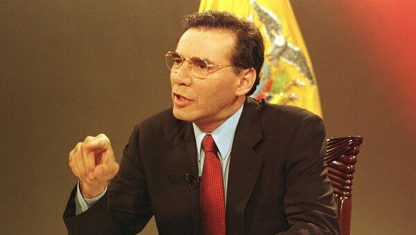 Jamil Mahuad, expresidente de Ecuador - Sputnik Mundo