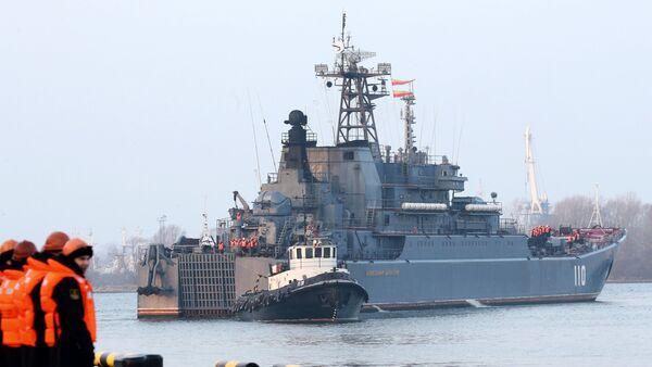 Buque de guerra de la Flota del Báltico - Sputnik Mundo