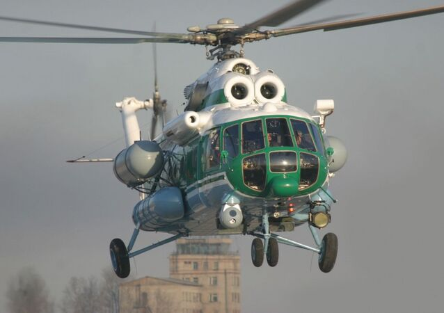 Helicóptero Mi-8/17 (archivo)