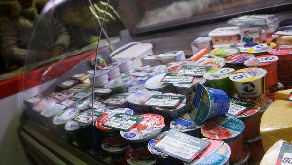 Productos lácteos bielorrusos - Sputnik Mundo