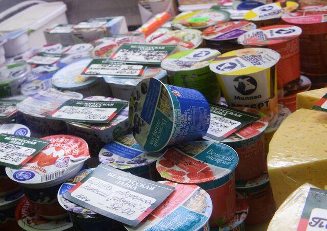 Productos lácteos bielorrusos