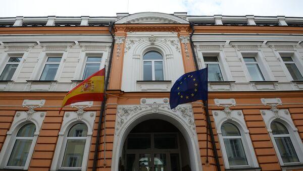El edificio de la Embajada de España en Moscú - Sputnik Mundo