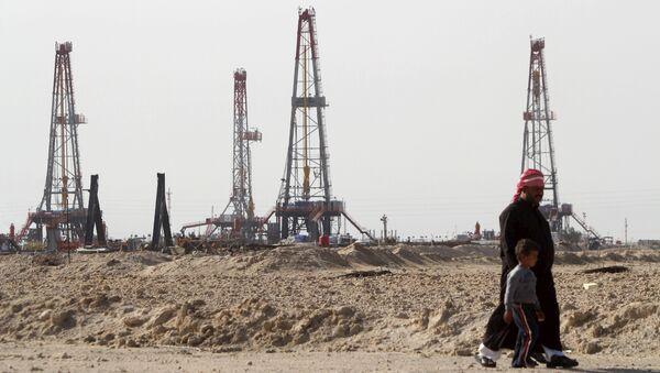 Los yacimientos petrolíferos en la provincia de Basra (Archivo) - Sputnik Mundo
