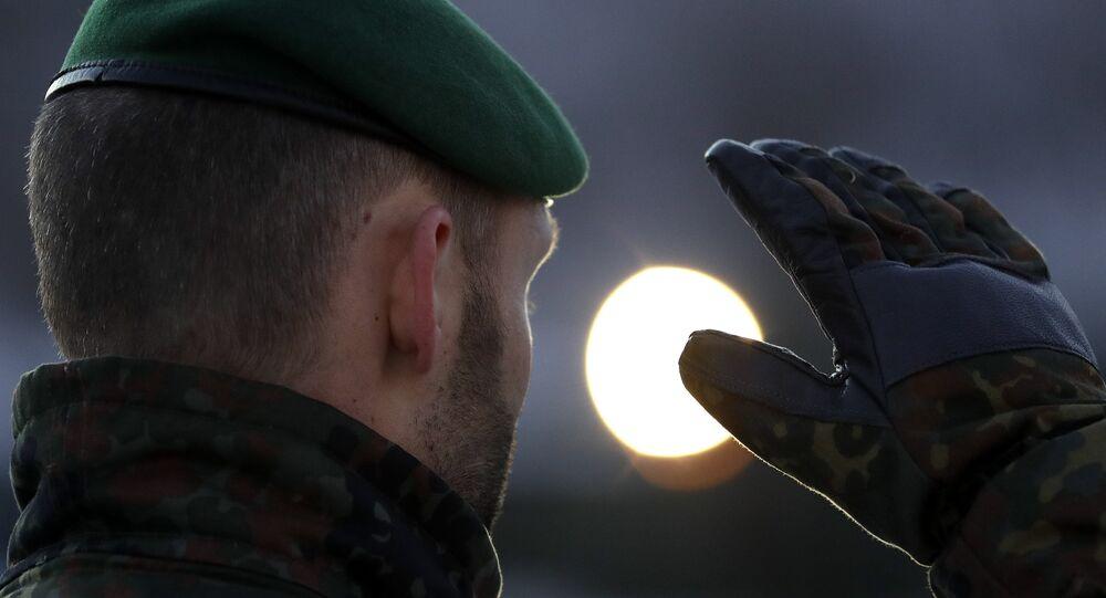 Un soldado de Alemania (archivo)