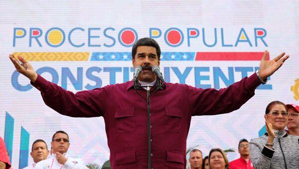 Nicolas Maduro - Sputnik Mundo