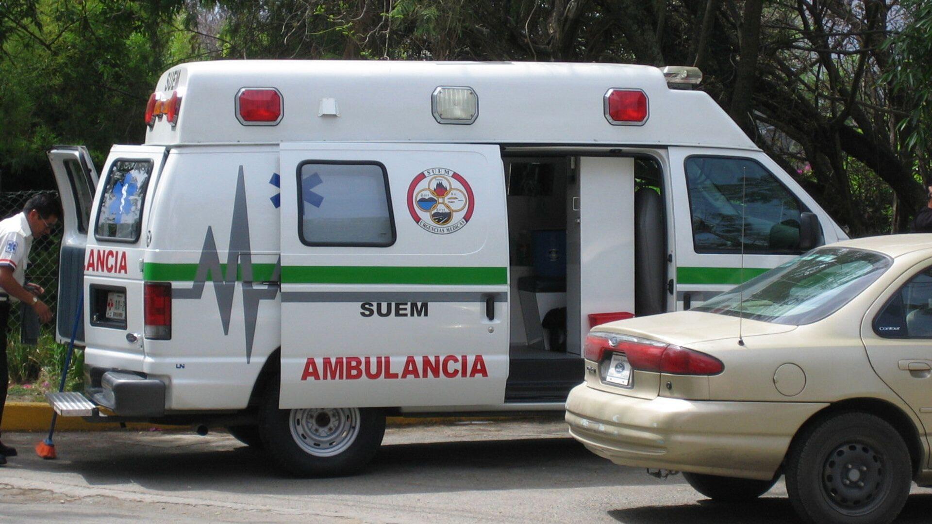 Ambulancia mexicana (archivo) - Sputnik Mundo, 1920, 28.03.2021