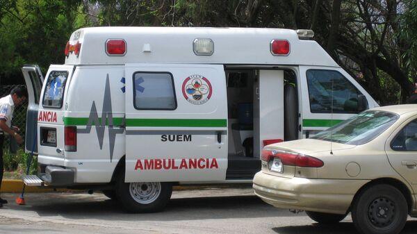 Ambulancia mexicana (archivo) - Sputnik Mundo