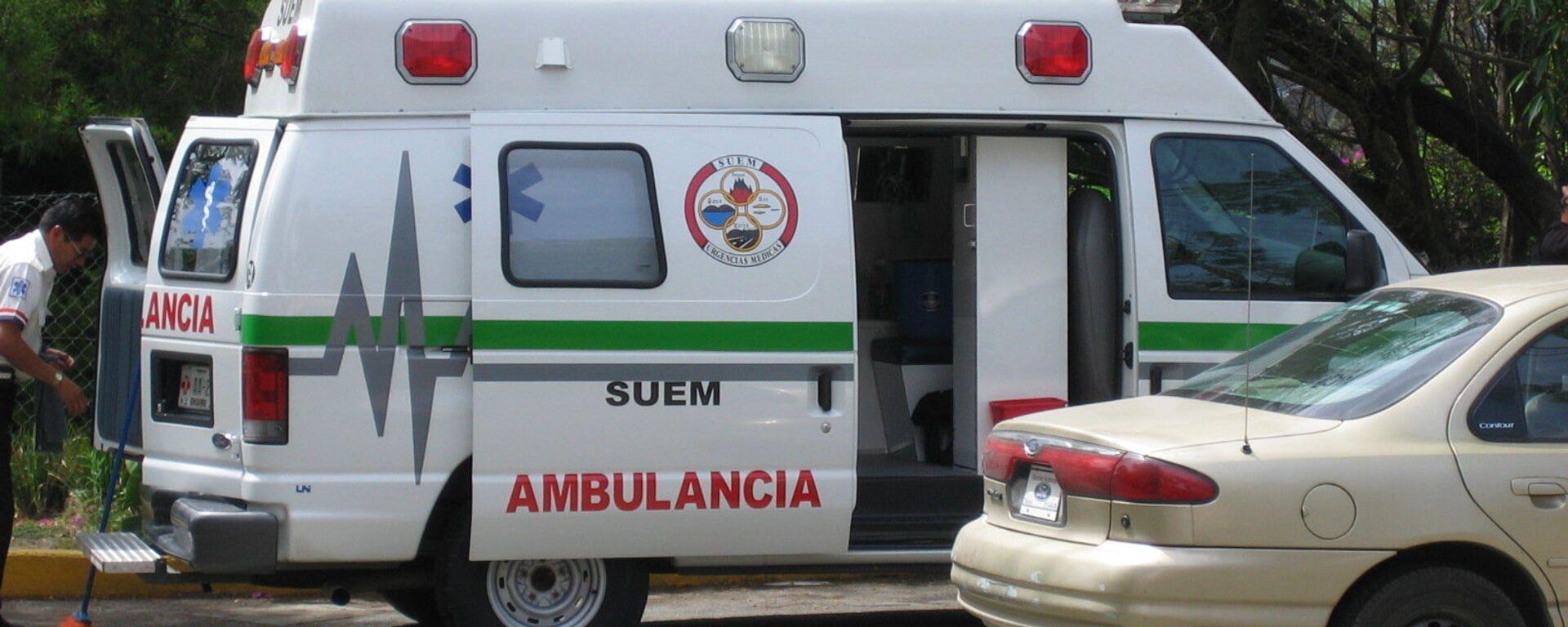 Ambulancia mexicana (archivo) - Sputnik Mundo, 1920, 04.06.2021