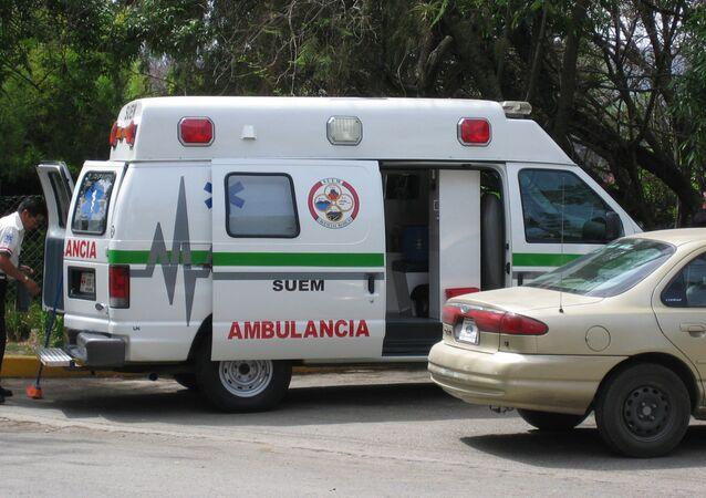 Ambulancia mexicana (archivo)