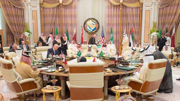 Donald Trump en la cumbre del Consejo de Cooperación para los Estados Árabes del Golfo - Sputnik Mundo