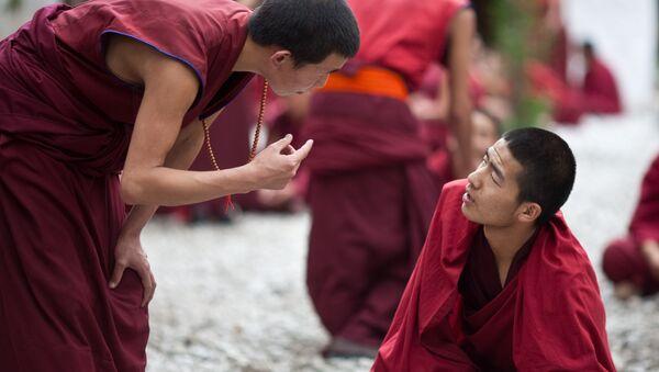 Monjes del Tíbet - Sputnik Mundo