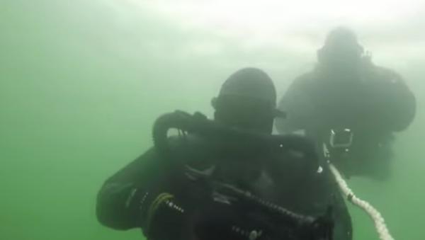 Así trabaja el grupo de operaciones especiales submarino de Rusia - Sputnik Mundo