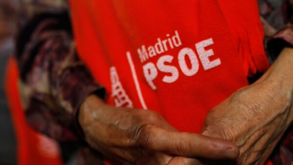 Seguidores del PSOE - Sputnik Mundo