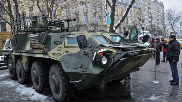 BTR-4 ucraniano - Sputnik Mundo