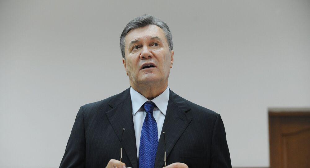 Víctor Yanukóvich, expresidente ucraniano