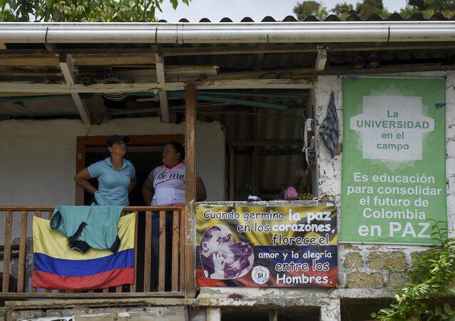 Los carteles pacifistas en Colombia