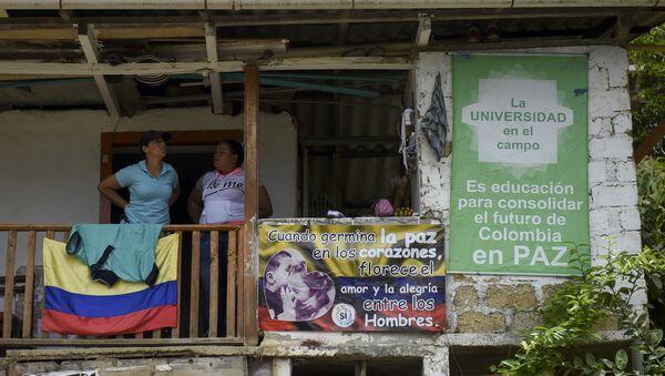 Los carteles pacifistas en Colombia - Sputnik Mundo