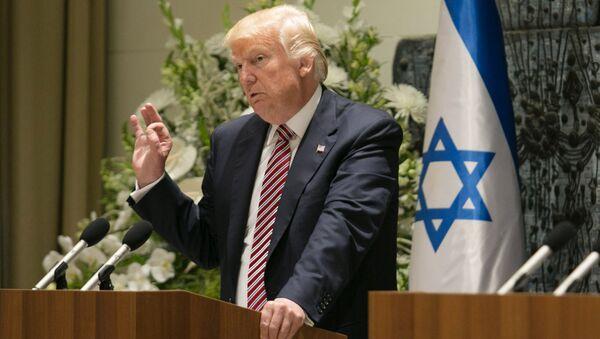 Donald Trump en Israel - Sputnik Mundo