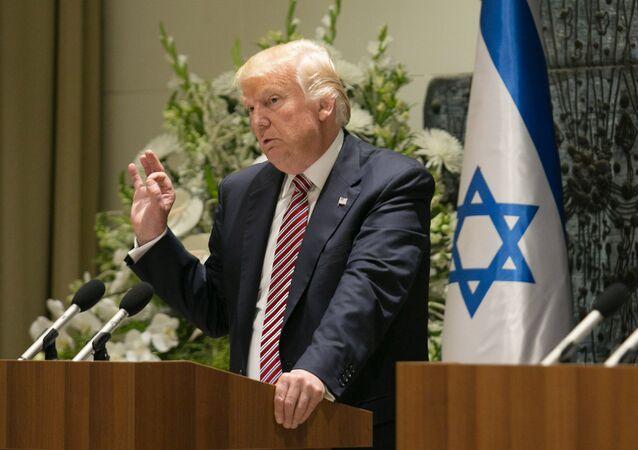 Donald Trump en Israel (archivo)