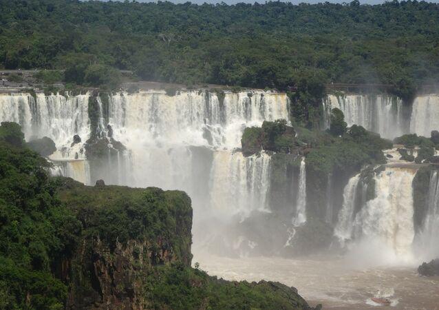 Las cataratas del Iguazú (archivo)