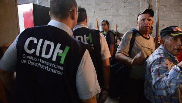 Miembros de la CIDH (archivo) - Sputnik Mundo