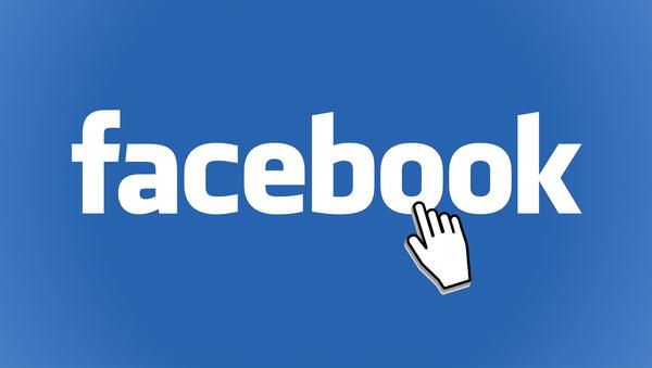 Logo de Facebook - Sputnik Mundo