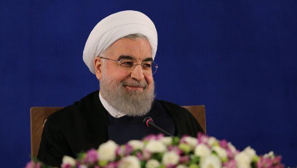 Iranian president Hassan Rouhani - Sputnik Mundo
