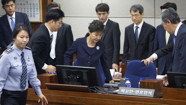 Park Geun-hye, expresidenta de Corea del Sur - Sputnik Mundo