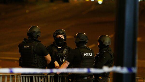 Policía de Mánchester, Reino Unido - Sputnik Mundo