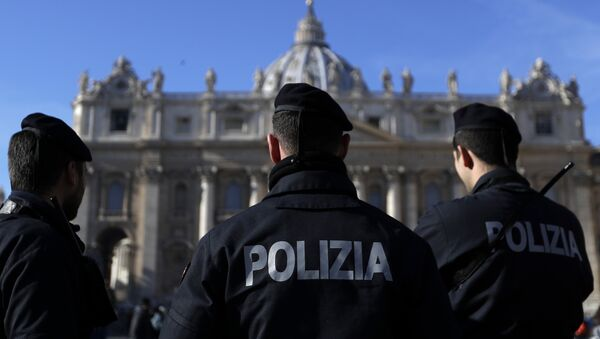 Policía de Italia (imagen referencial) - Sputnik Mundo