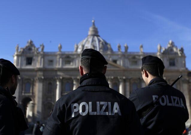 La Policía de Italia (imagen referencial)