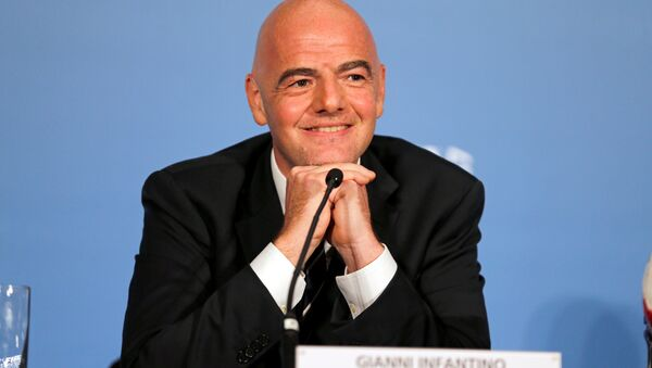 Gianni Infantino, presidente de la FIFA (archivo) - Sputnik Mundo
