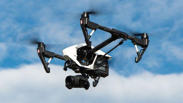 Un dron (imagen ilustrativa) - Sputnik Mundo