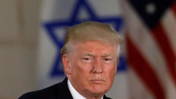 Donald Trump, presidente de EEUU, en Jerusalén - Sputnik Mundo